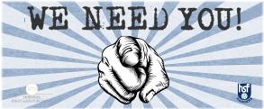 Vi søger frivillige
